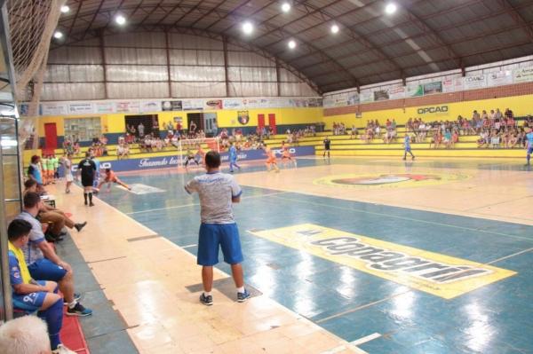 Nova Santa Rosa em quadra pela 3ª rodada. (Foto: Portal Nova Santa Rosa)
