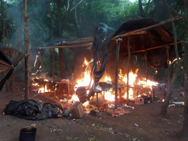 As ações se concentraram na colônia Santa Clara, situada na fronteira. (Foto: Porã News)