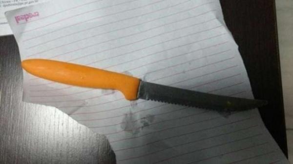 A agressora foi uma criança de 11 anos.(Foto reprodução Ubiratã Online)