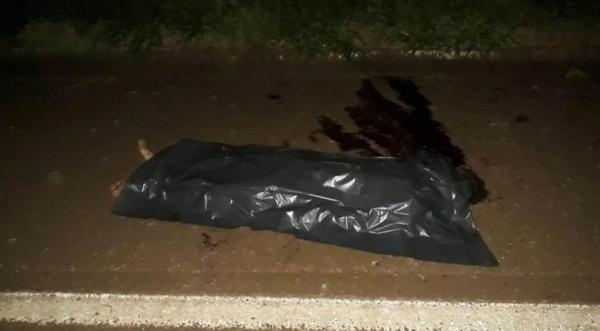 O corpo da vítima que não foi identificado foi levado ao IML de Toledo.(Foto: Tarobá News)
