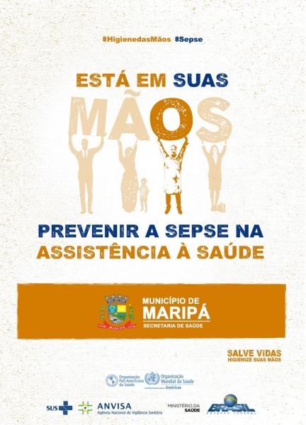 Campanha do Dia Mundial de Higienização das Mãos alerta para prevenção da sepse nos serviços de saúde