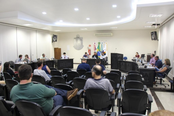 Sessão na Câmara de Vereadores. (Foto: Portal Nova Santa Rosa)