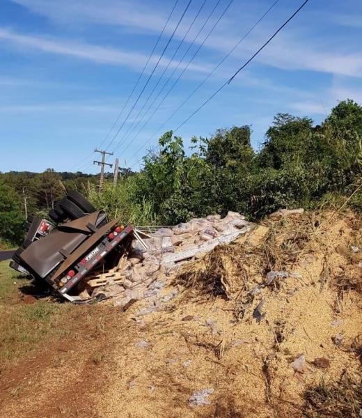 O condutor sofreu ferimentos leves. (Foto:PRE)