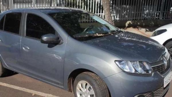 O veículo com placas de São Pedro Iguaçu, foi encaminhado ao pátio da 20ª SDP. (Foto: Catve)