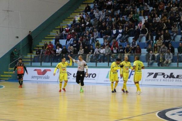 Copagril Futsal vence Blumenau por 5x3 e pontua na Liga Nacional (Foto: Carina Ribeiro/Copagril )