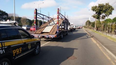 A paralisação entrou no quarto dia com aumento de bloqueios pelo país.(Foto: Divulgação)
