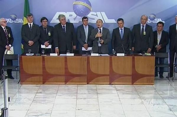 Governo faz proposta para suspensão da paralisação dos caminhoneiros (Foto: TV Globo/Reprodução )