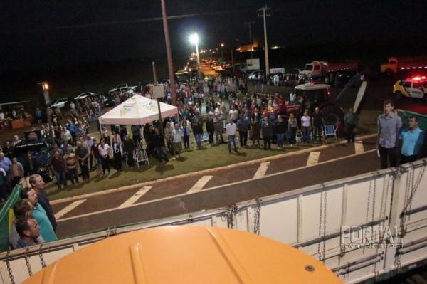 Mais de 300 pessoas participaram do evento. (Foto: Portal Nova Santa Rosa)