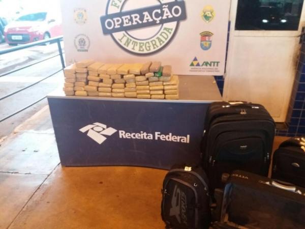 A Operação Fronteira Integrada é realizada em conjunto com a Receita Federal. (Foto: Assessoria)
