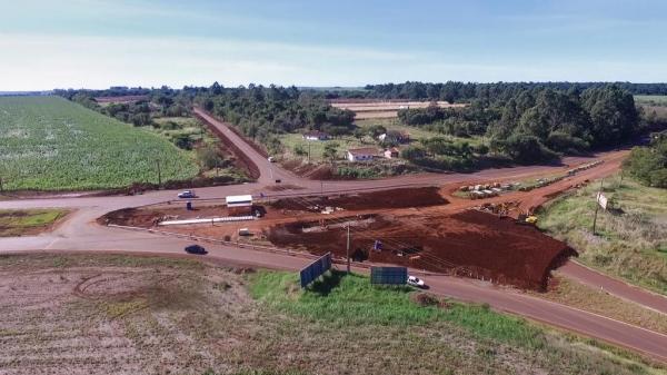 Dentre as melhorias, está a adequação da Linha Três, via que sai de Marechal até Toledo. (Foto: Assessoria)