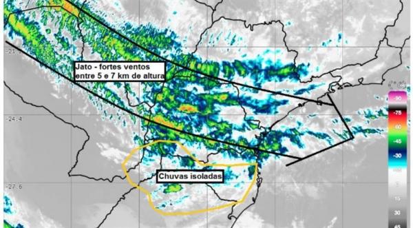 A menor temperatura foi em General Carneiro, de 5,9°C.(Foto: Tarobá News)
