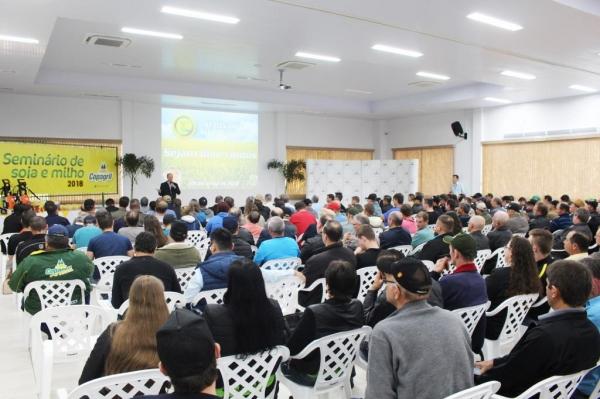 Seminário Anual de Soja e Milho. (Fotos: : Carina Ribeiro/Copagril)