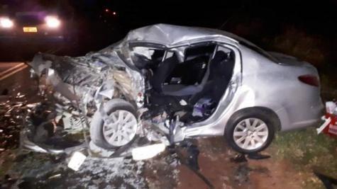 O acidente aconteceu por volta das 17h50 de domingo (1º). (Foto:ROYNEWS)
