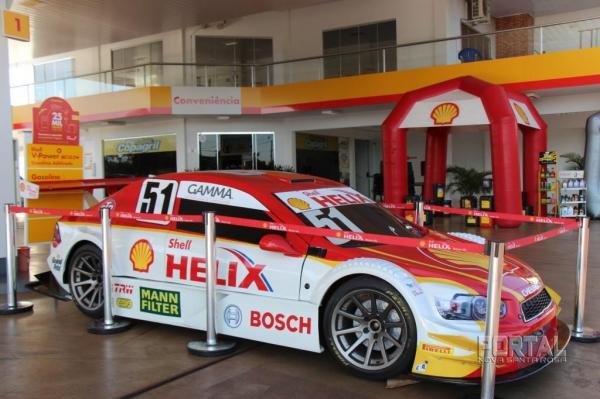 Protótipo da Stock Car. (Fotos: Portal Nova Santa Rosa/Divulgação)