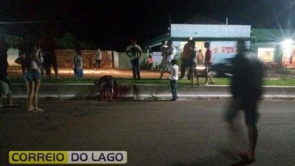 A Polícia Militar de São José das Palmeiras foi acionada. (Foto: Correio do Lago)