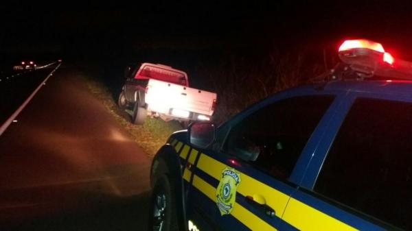 Dois foram presos. (Fotos: PRF)