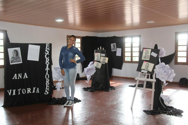 A exposição está aberta para visitação do público durante o mês de julho.(Fotos: Assessoria)