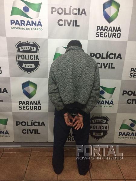 Momento da prisão de Rafael. (Foto: Marcio Cerny)