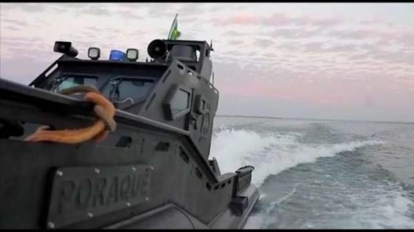 A marinha já anunciou que já está em construção uma segunda embarcação como está. (Foto: Catve)