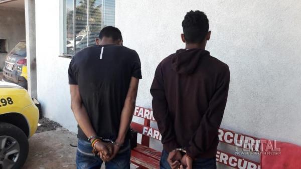 Dois foram presos. (Foto: PM)