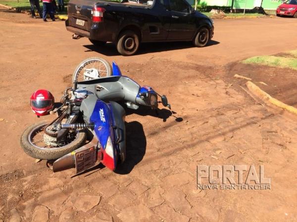 O acidente aconteceu no interior de Marechal Rondon. (Fotos: Marechal News)