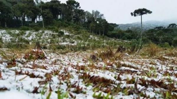 As condições para nevar estão associadas a presença de um ciclone extratropical. (Foto: Divulgação)