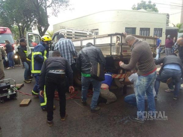O jovem ficou gravemente ferido. (Foto: Bogoni)