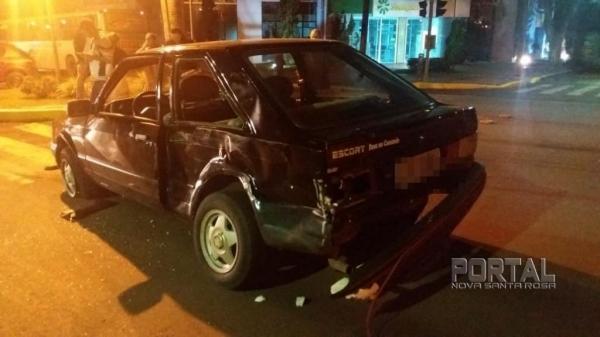O acidente foi na região central da cidade. (Fotos: Marechal News)