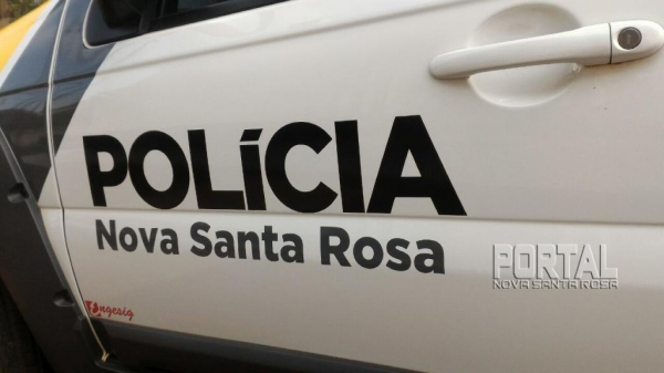 Um boletim foi registrado. (Foto: Portal Nova Santa Rosa)
