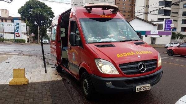 O bebê foi encaminhado ao Hospital São Lucas. (Foto: CGN)