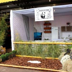Rancho do Panda. (Fotos Assessoria)