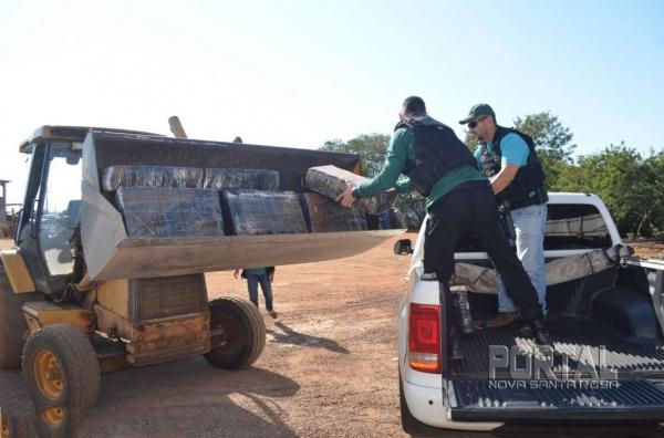 O motorista de 20 anos foi preso em flagrante . (Foto: Bogoni/Polícia Federal)