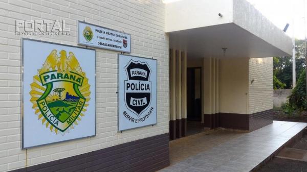 O fato foi registrado pela Polícia Militar (Foto: Portal Nova Santa Rosa).