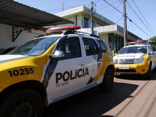 A polícia procura o assaltante. (Foto: Arquivo)