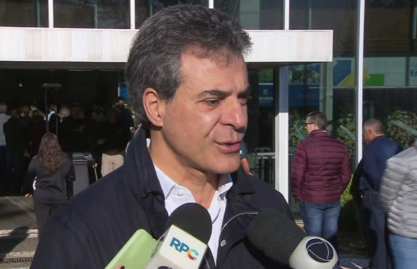 Beto Richa foi preso nesta terça-feira (11) (Foto: Reprodução/RPC)