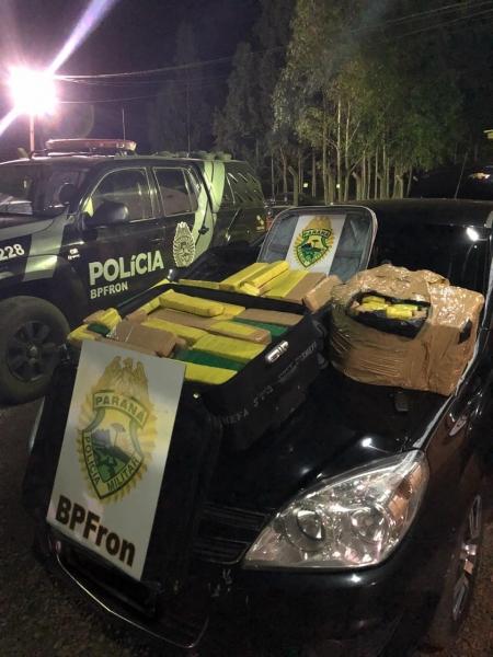 Uma pessoa foi detida. (Foto: BPFRON)