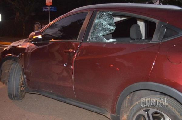 Uma pessoa ficou ferida. (Fotos: Bogoni/Radar B.O.)