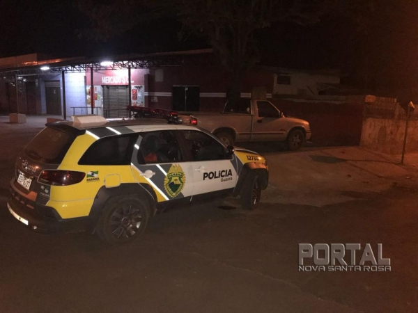 O veículo foi recuperado na noite de ontem (12). (Foto: Polícia Militar)