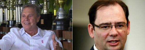 Empresário e ex-secretário do governo Richa suspeitos de fraudar licitações são considerados foragidos, diz MP-PR — Foto: RPC e Henry Milleo/Arquivo/Gazeta do Povo