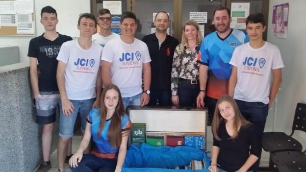 Integrantes da JCI Juvenil de Marechal Rondon . (Fotos: Divulgação)