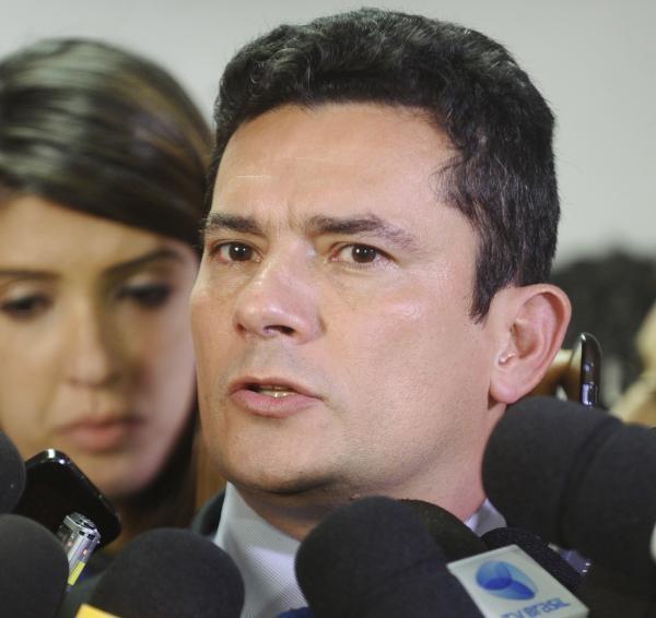 """Moro: """"prática serial de crimes"""" (Foto: Agência Senado)"""