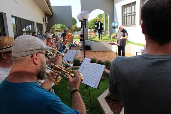Banda Sinfônica da Alemanha visita Maripá durante turnê no Brasil .(Fotos:Assessoria)