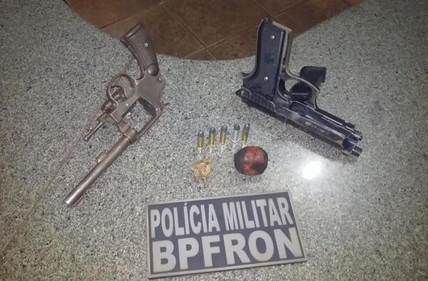 Condutora e passageiros foram presos (Foto: BPFron/Divulgação )