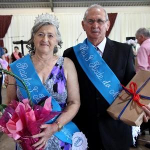 O casal Oclair e Iria Périco representarão o Município de Maripá até o próximo ano.(Foto: Assessoria)