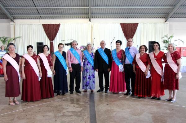 Dia do Idoso é comemorado com festa que apresentou os novos representantes da Terceira Idade. (Foto: Assessoria)