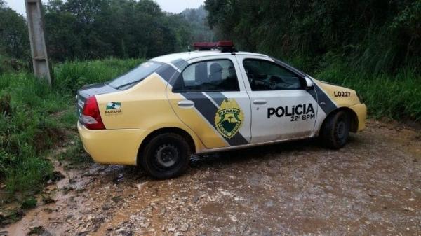 A Polícia Civil de Colombo investiga o caso (Foto: Colaboração )
