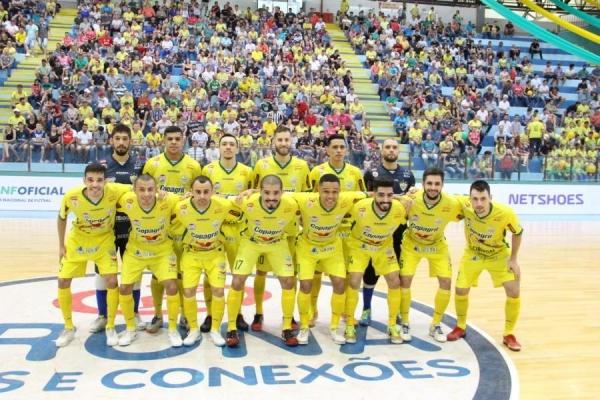 Em menos de 2 minutos, o time da Copagril reverteu completamente a situação da partida (Foto: Assessoria )