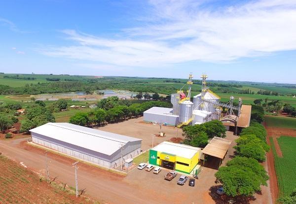 : Estrutura da Copagril em Doutor Oliveira Castro (Guaíra) passa a ser uma unidade de recebimento e armazenagem de grãos. (Foto: Assessoria Copagril)