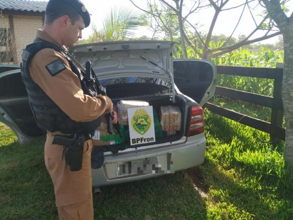 Sob intenso patrulhamento por ar, terra e água, foram registradas apreensões. (Fotos: BPFron)