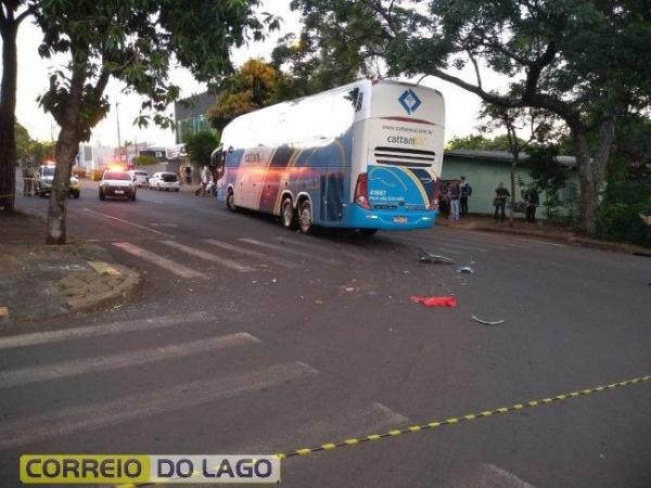 A colisão foi registrada no cruzamento da Rua Alagoas com a Rua Rio Branco. (Foto: Reprodução)
